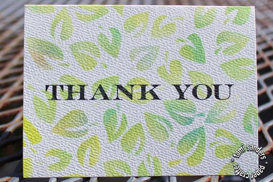 tcw -3- thank you cards,the crafter's workshop,inking stencils,stenciled cards,tami sanders - shwm