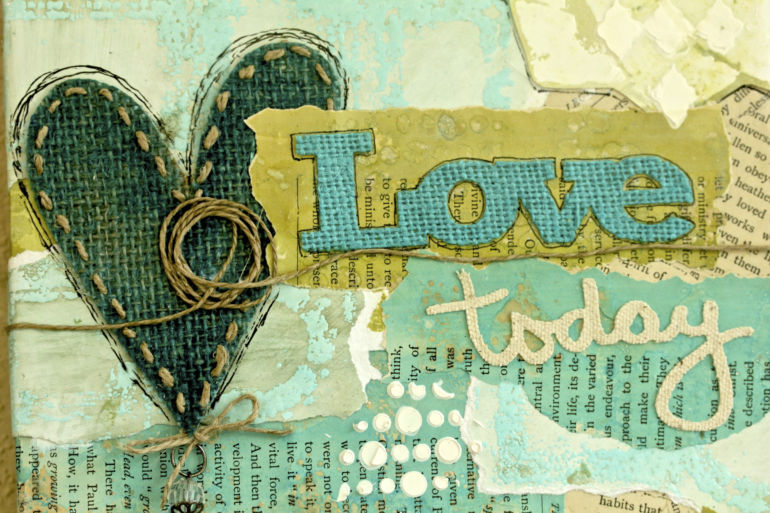Layering Techniques in Mixed Media with Sue Carroll