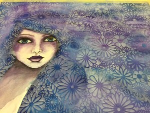 Lydell Quin The Crafters Workshop Watercolor 11