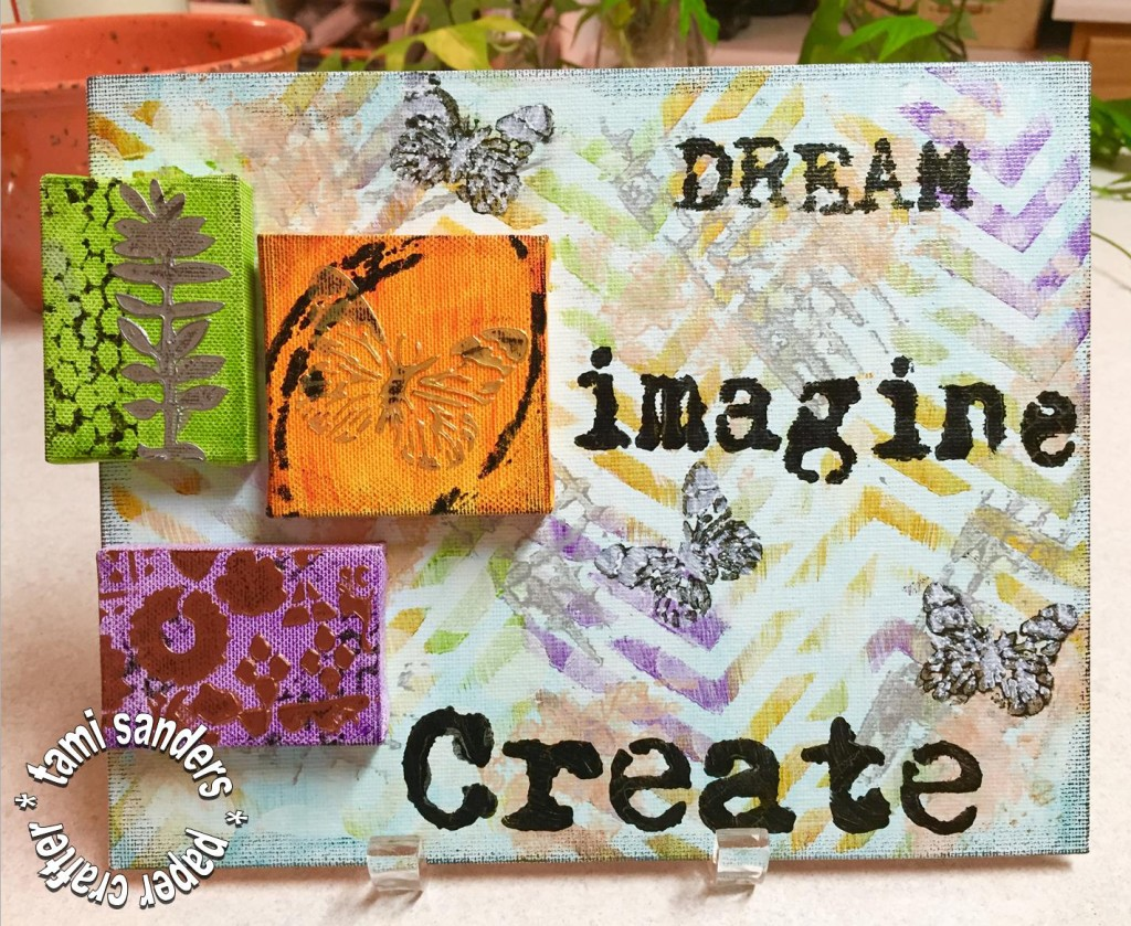 TCW dream canvas, altered canvas,izink,tami sanders - WM