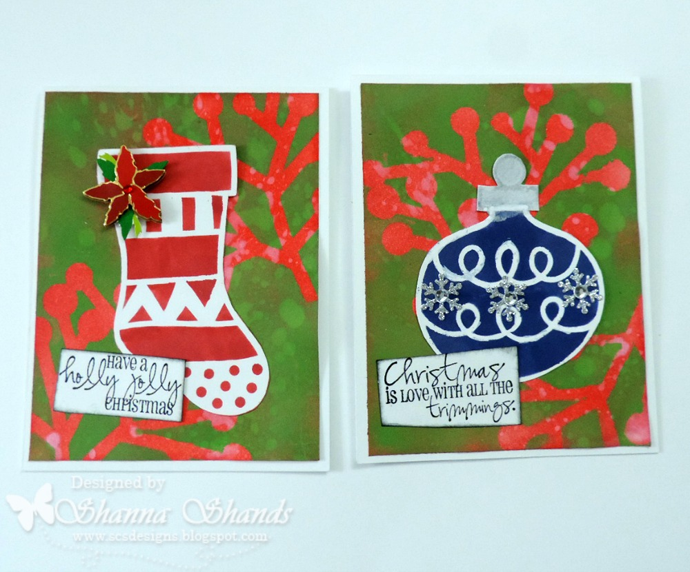 The Crafters Workshop Christmas Cards