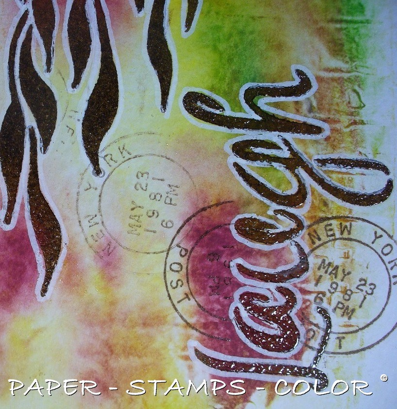 TCW roodgroen monoprint laugh (8)