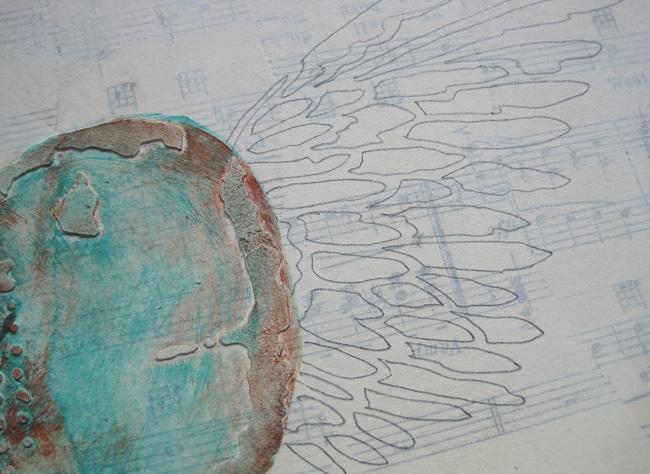 Traced TCW angel wings stencil LEFKO
