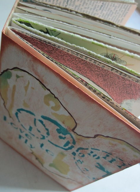 Bound journal with signatures of various papers Nancy Lefko