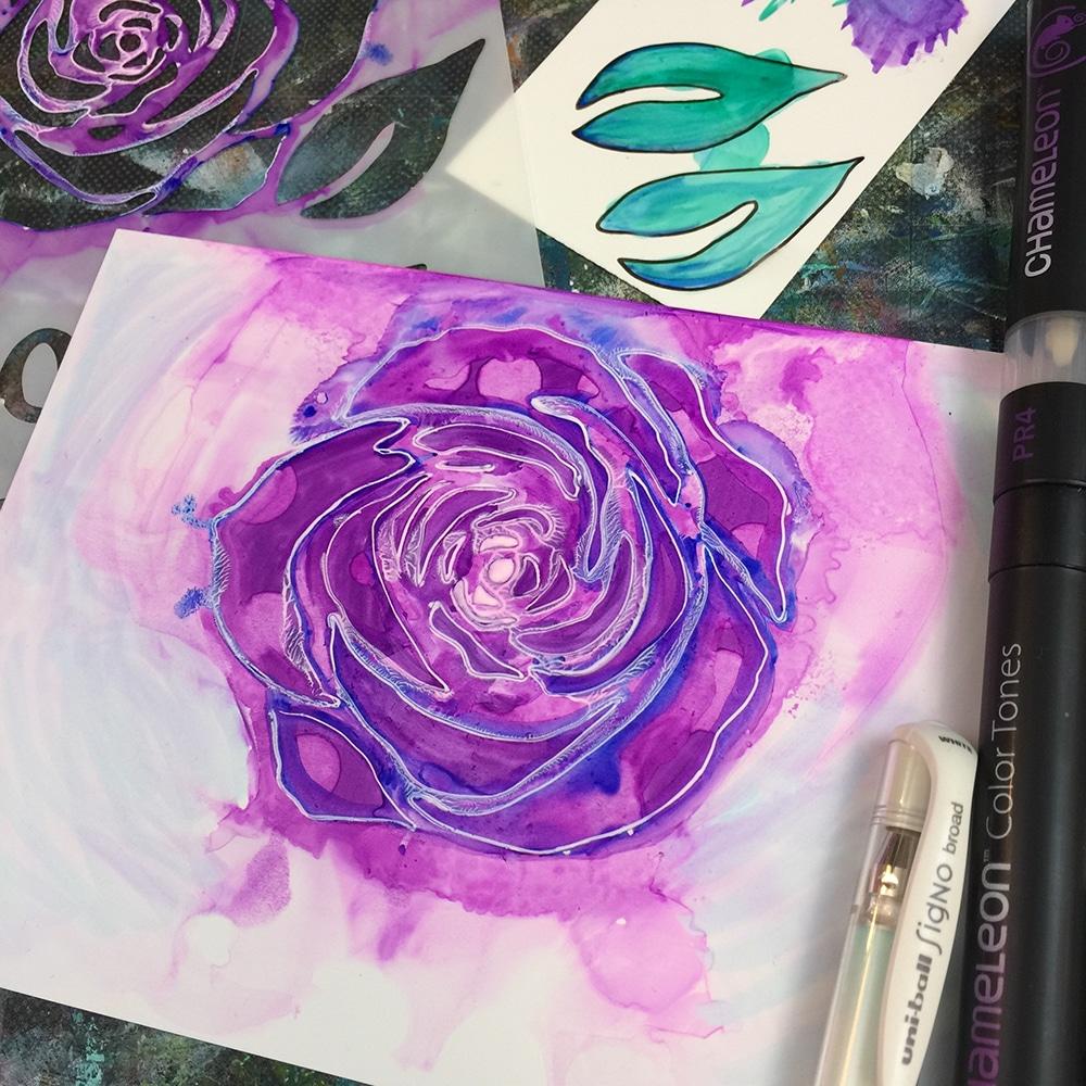 Marker BV4 Violet Blue added for contrast