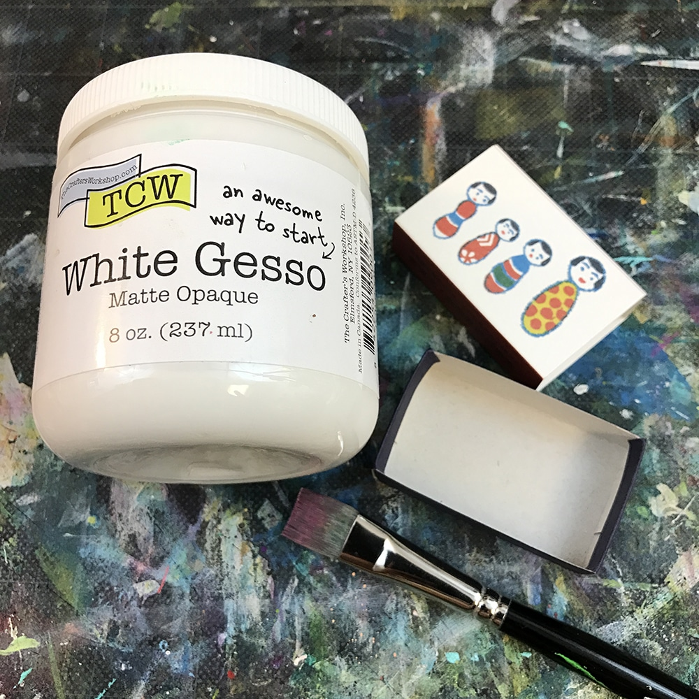 2 Coats of TCW White Gesso