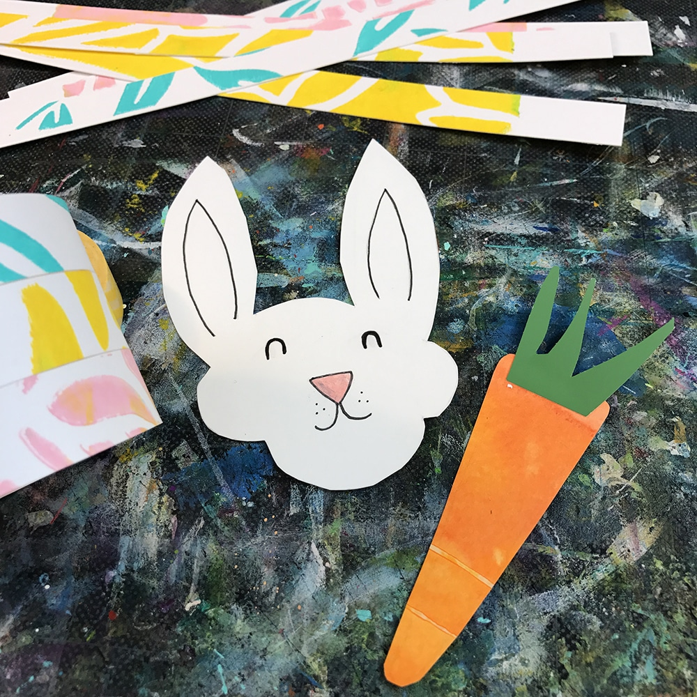 A Little Bunny and Carrot