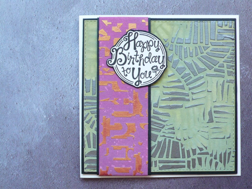 How to create a fun layered birthday card