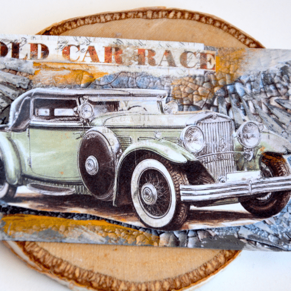 Mixed-media-ATC-with-old-car-1